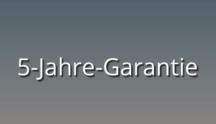 5 Jahre Ford Garantie