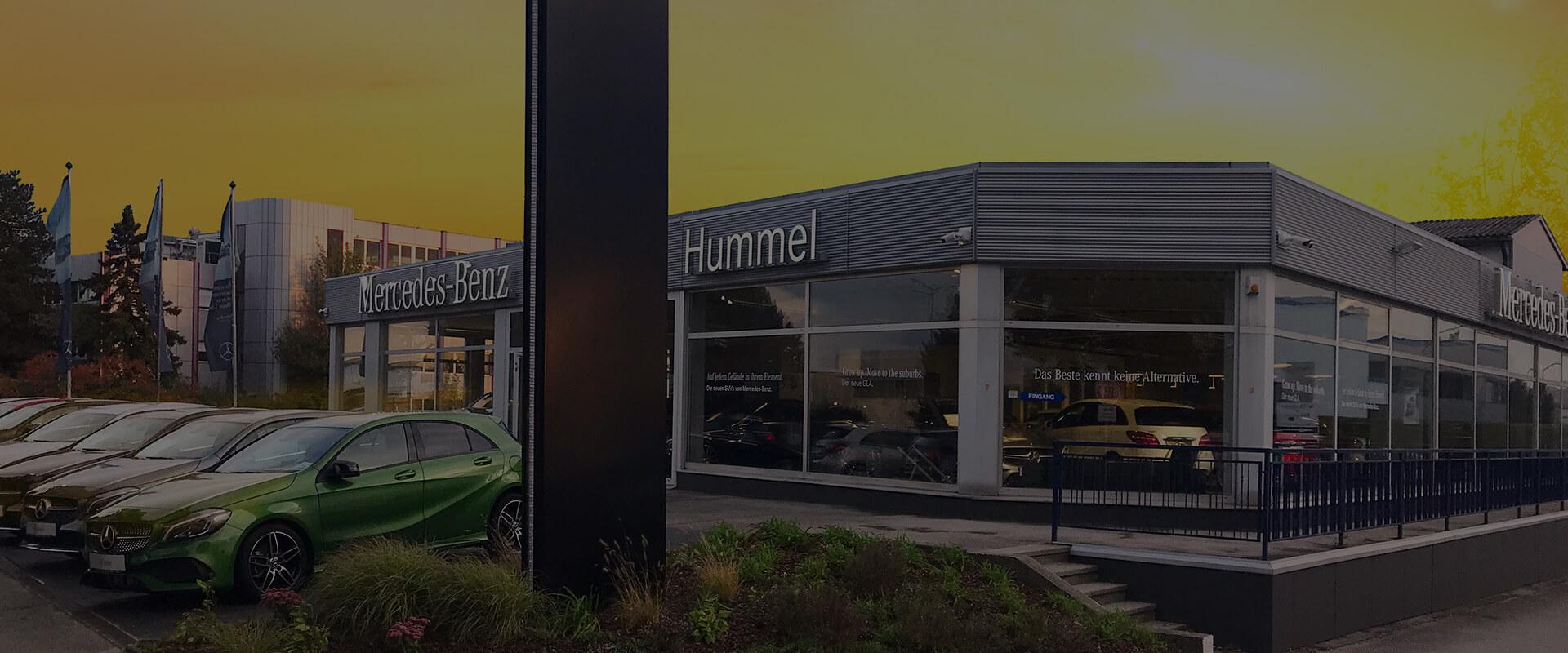 Autohaus Hummel Aussenansicht