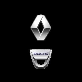 Renault und Dacia Logo