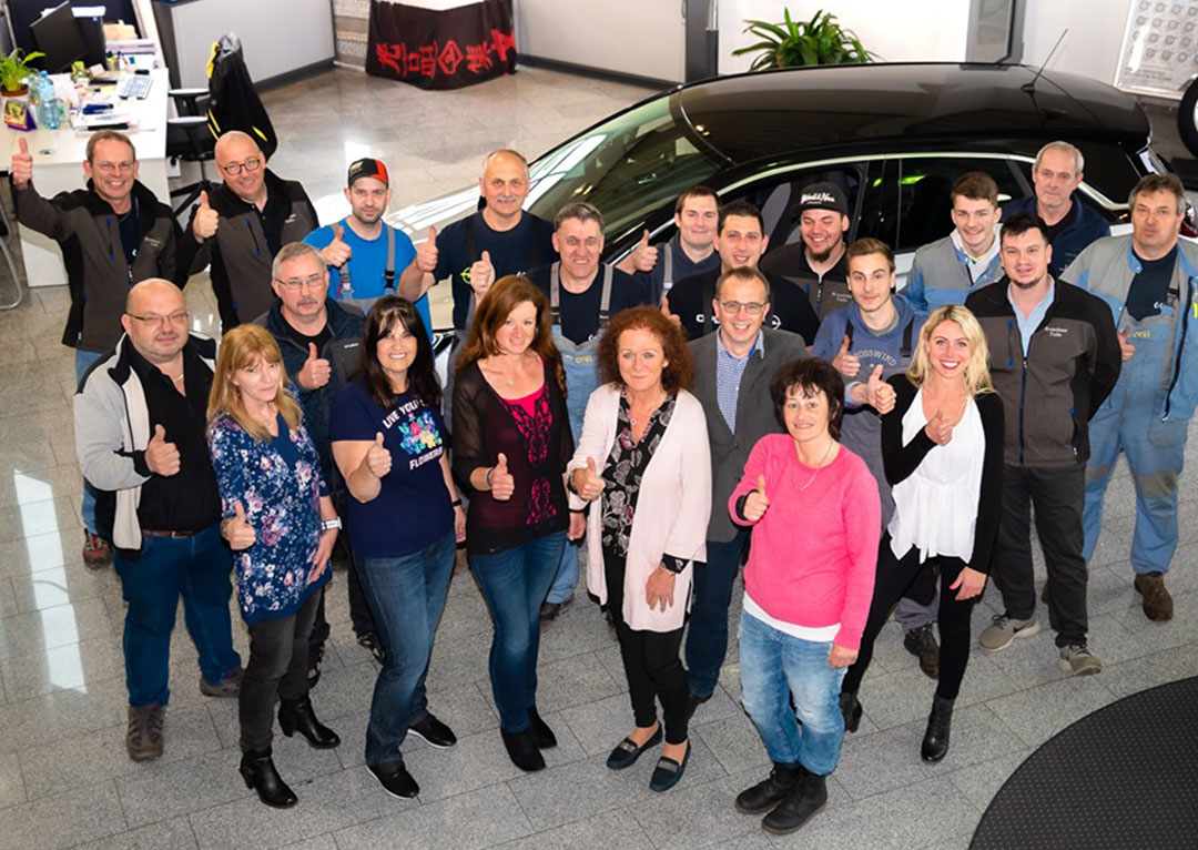 Teamfoto Opel Brandtner