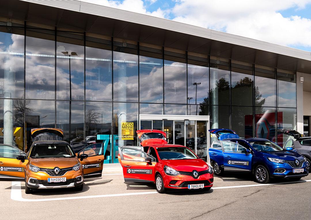 Renault Kammerhofer aussenansicht