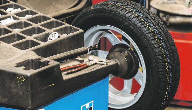 Reifen umstecken und Wuchten € 28,10