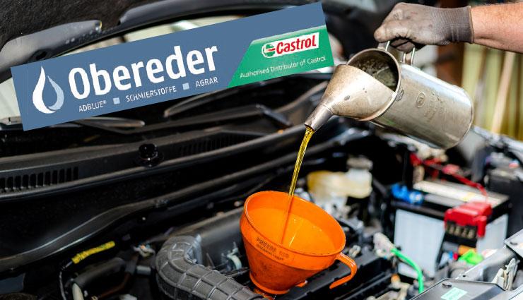 Markenspezifisches Motoröl