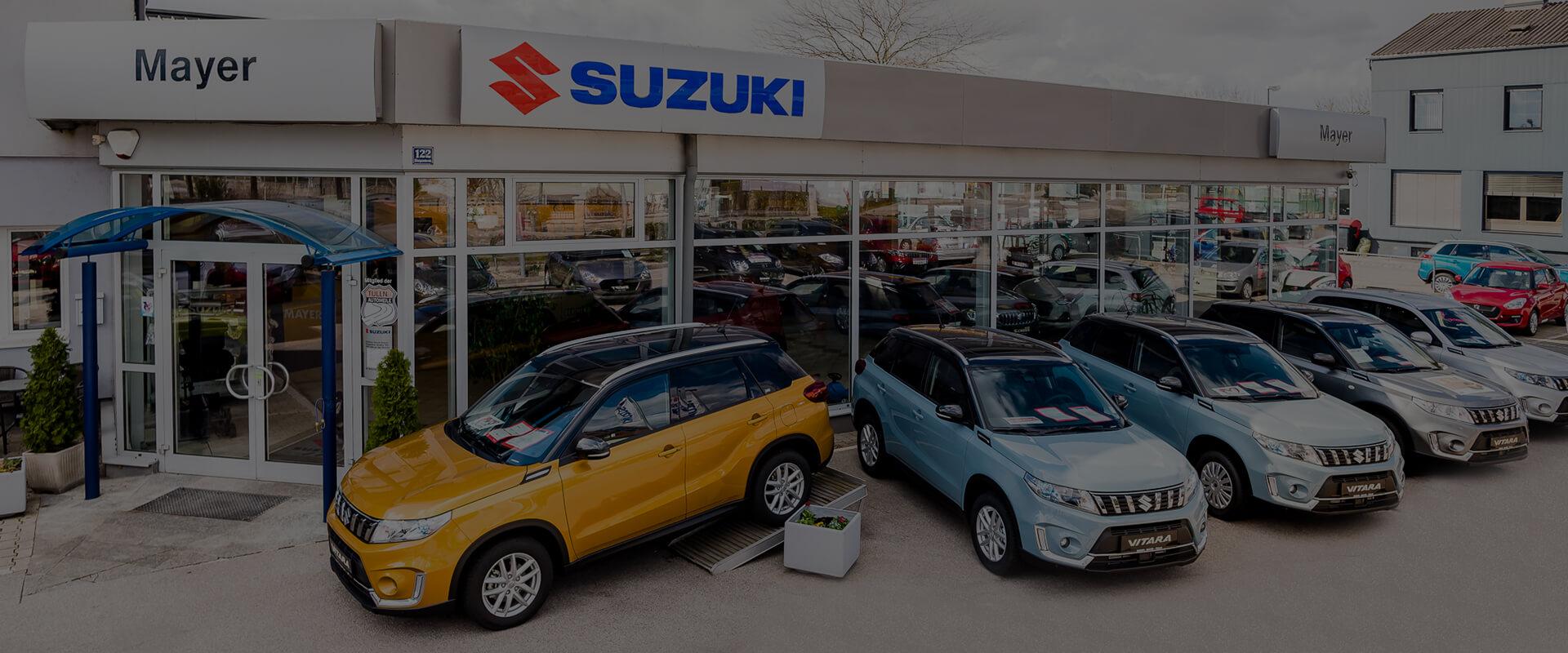 Autohaus Suzuki Mayer Aussenansicht