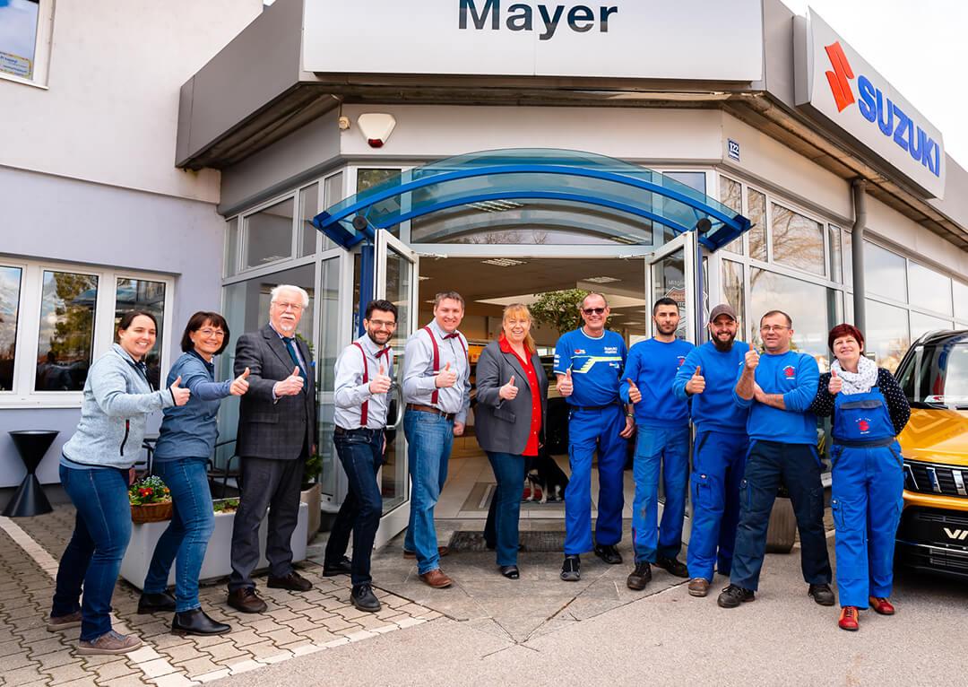 Suzuki Mayer Teamfoto