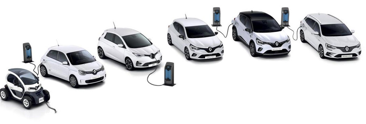 Renault Elektro range